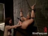 Phoenix Marie receives her gazoo Fisted in Slavery!!!!