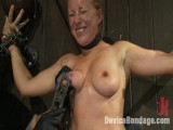 Teat brutality on the sybian until perspired and wrecked