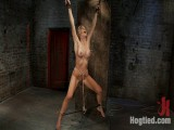 Tickling, flogging, spanking. We make her cum over & overCrotch rope & suspend her from wrists!