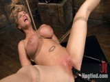 Massive Tit Golden-haired Thraldom Whore Destroyed With Overwhelming Orgasms