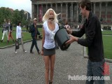 BEST OF EUROPE: Charming German Mother I'd like to fuck Tied and Fucked in Public