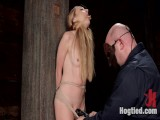 Hot Blond with Little Love bubbles Manhandled!