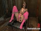 Hot Doxy Receives Electrofucked for Her 19th Birthday!