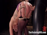 Big Butt DP Squirting Obedience Serf, Savannah Fox